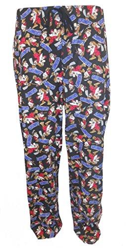 Disney Mr Grumpy Herren Schlafanzug Pyjama Hose Mehrfarbig
