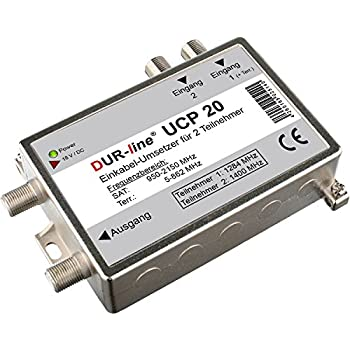 Dur-line UCP 20 Einkabellösung (für 2 Teilnehmer über 1 Kabel) Funktion wie Stacker-Destacker