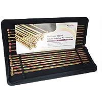 De punto de PRO 40 cm Tela Symfonie terminación única Knitting fijaron, multicolor