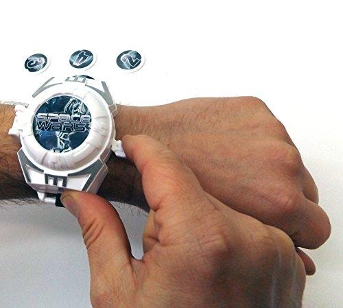 Brigamo 38923 – Sternenkrieger Set bestehend aus Space Blaster, Laserschwert mit Licht & Sound & Disc Blaster fürs Handgelenk - 4