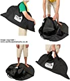 Wetsuit bagmat, carry bag and changing mat - keeps wetsuit & car clean (and dry)