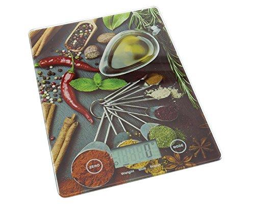 Eurosell Digitale Designer Küchenwaage - Küchen Waage Design - Digital - Backen / Kochen