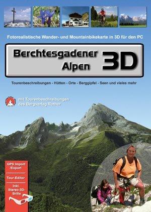 Berchtesgadener Alpen 3D (Fotorealistische Wander- und Mountainbikekarte in 3D für den PC)