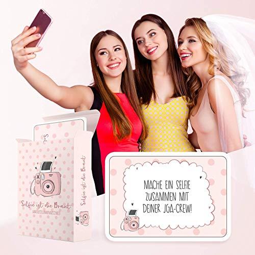 Selfie ist die Braut | JGA Spiel - 5