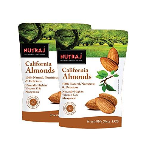 Nutraj California Almonds 500G (2 x 250 gms)