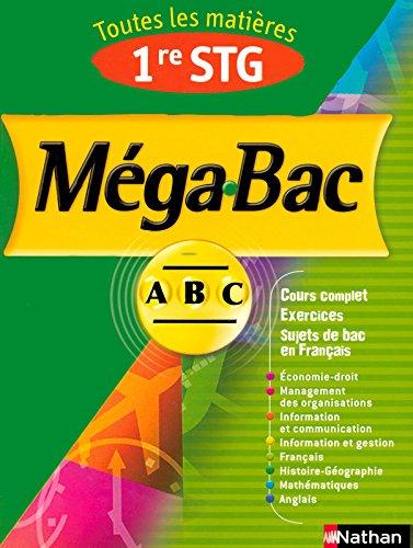 MEGA BAC 1ERE STG