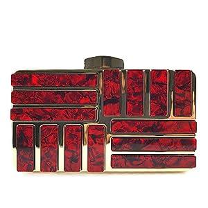 51avZwRDzRL. SS300  - BAIGIO Bolso de Fiesta Carteras de Mano Bolsas de Embrague Bolsa de Noche para Mujer Monedero para para Boda Fiesta…
