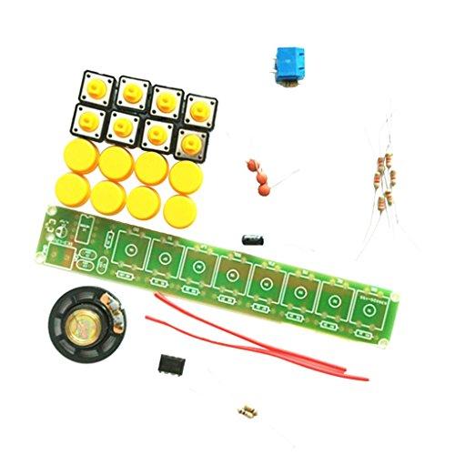 MagiDeal NE555 Elektronische Komponenten Teile Elektrische Orgel Klavier Modul DIY Kit Set