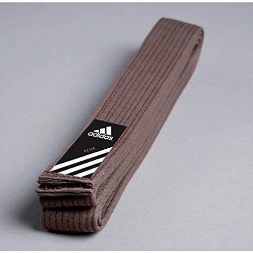 Adidas Elite Belt Gürtel Braun Judogürtel, Karategürtel, Taekwondogürtel
