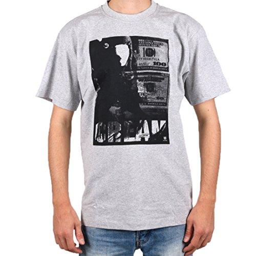 Wu Wear - Cream Cover Bill -T-Shirt - Wu-Tang Clan Grey