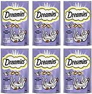 Dreamies Cat Treats, Duck, 60g x 6