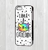 iPhone-455-C66-tui-rigide-Im-a-caticorn-Citation-chat-Kitty-Unicorn