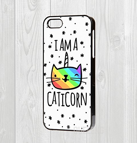 iPhone-455-C66-tui-rigide-Im-a-caticorn-Citation-chat-Kitty-Unicorn