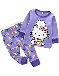 TrendyKidz Winter Cute Printed Top and Pant Set for Baby Girls