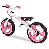 Eurekakids - Training Bike, bicicleta sin pedales, color rosa (649092A)