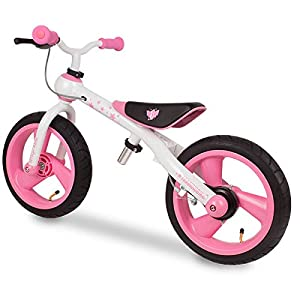 Eurekakids - Training Bike, bicicleta sin pedales, color rosa (649092A)