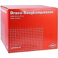 SAUGKOMPRESSEN 20x20 cm unsteril Draco 30 St Kompressen preisvergleich bei billige-tabletten.eu