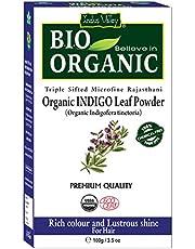 Indus Valley Organic Indigo Powder Hair Color 100Gm