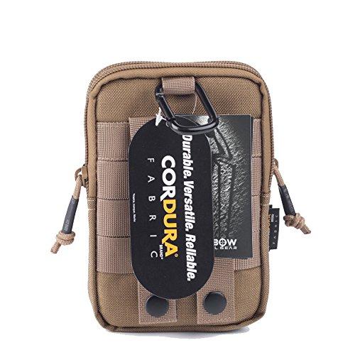 Reebow Gear Herren Taktische Miltaer EDC Molle Tasche 1000D Cordura Coyote Braun