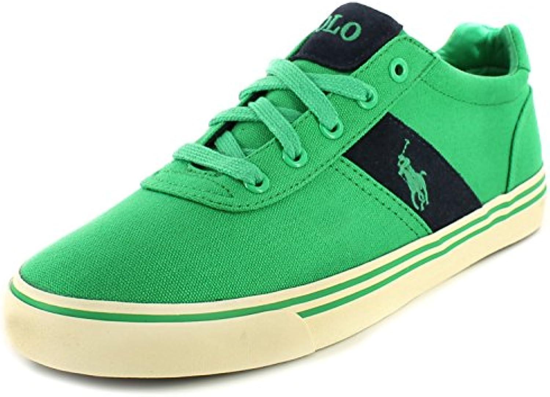 POLO RALPH LAUREN Anford zapatos verdes hombre zapatillas de tela -