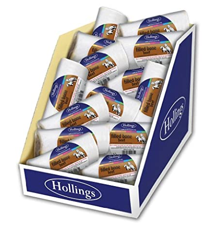 Hollings Filled Bone Treat for Dogs (Flavour: Meat)