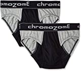 Chromozome Men's Cotton Brief (Pack of 2...