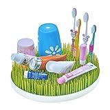 Cozyswan Trockengestell Trockenständer für Baby Flaschen und Flaschenzubehör Flaschentrockner Abtropfständer Grass Grün