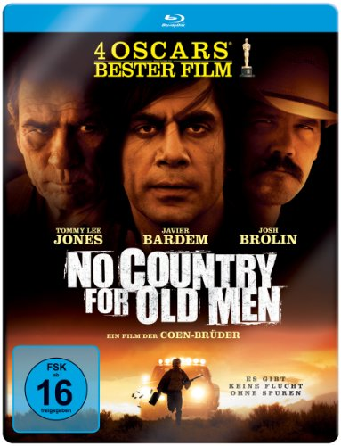 Bild von No Country For Old Men (Limitierte Steelbook Edition) [Blu-ray]