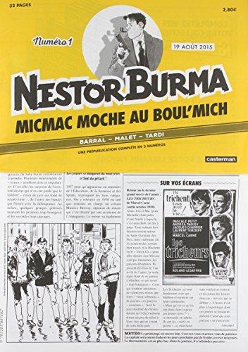 Nestor Burma : Micmac moche au Boul'mich N° 1