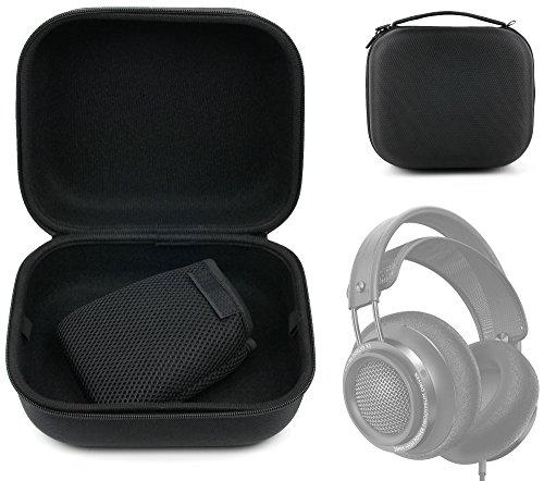DURAGADGET Etui rigide large pour Philips Fidelio X2, Sony MDR-HW700DS casque gaming