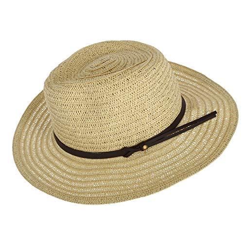 d7cb577c7 Jeanne Simmons - Sombrero Cowboy - Liso - para Hombre Beige Natural L
