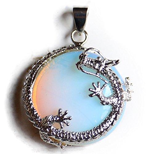 Aituo 1pc cristallo naturale reiki esagonale pile gemma guarigione chakra pendolo ciondolo a forma di teschio per collana gioielli fai da te style 1
