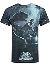 Hombres - Official - Jurassic World - Camiseta