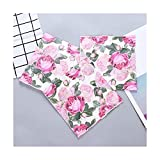 Tovaglioli di Carta Romantico Tovaglioli di Carta per caffè e Fiori Rosa Rose Decoupage Decoration Paper 33cm * 33cm 21pcs / Pack/Lot
