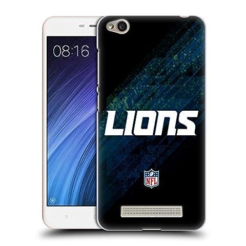 Officiel NFL Tache Detroit Lions Logo Étui Coque D'Arrière Rigide Pour Xiaomi Redmi 4a