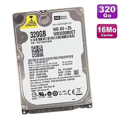 Western Digital 'Laptop Festplatte 320GB SATA 2,5 WD3200BUCT 5.400UpM 16MB (320 Laptop Digital Western)