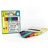 Rotulador fino para niños pequeños 10 colores