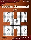 Sudoku Samurai - Difícil - Volumen 4-159 Puzzles: Volume 4