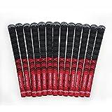 Crestgolf new-arrival mit multi-compound Golf Griff für Golfschläger mit, rutschfest, Baumwolle mit-midsize Standard-Größe mit, rot, Standard-Größe