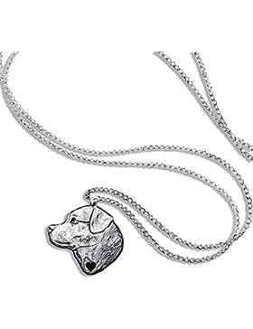 Halskette Labrador Kette Schmuck Anhänger