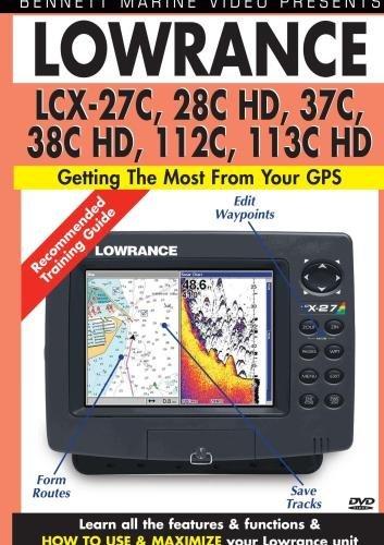 Lowrance LCX-27C, 28C HD, 37C, 38C HD, 112C, 113C HD by James Marsh Lowrance Lcx 28c Hd