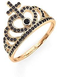 ca5d854f165528 anello donna gioielli Amen Corone misura 16 trendy cod. AC2RN-16