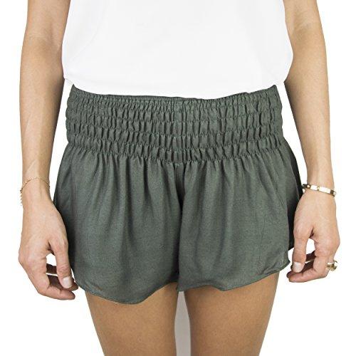 Natural Healing Co... Pantalones Cortos Playa Mujer