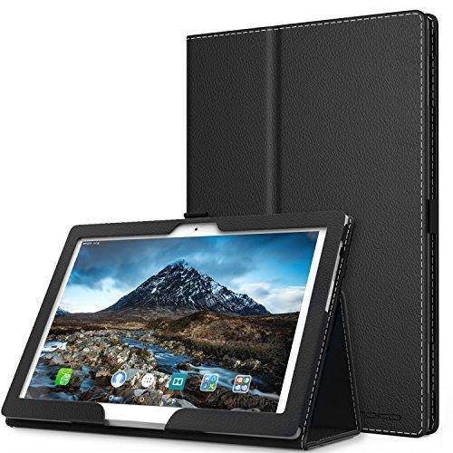 """MoKo Lenovo Tab 4 10"""" Etui Housse - Pliable Tablette Coque Slim Smart Case Cover Pour Lenovo Tab 4 10 Pouces 2017 Version, Noir"""