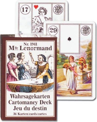 Piatnik–194115Mlle. Lenormand Tarot & wahrsage Cartes