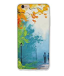 APPLE I PHONE 6S PLUS SILICON BACK COVER BY instyler