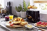 Philips HD2581/90 Toaster, integrierter Brötchenaufsatz, 8 Bräunungsstufen, schwarz - 3