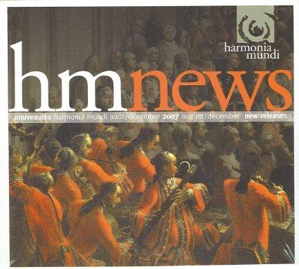 Nouveautes (Harmonia Mundi) August/December 2007 New Releases [IMPORT] [COMPILATION]