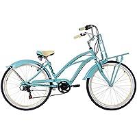 KS Cycling Damen Beachcruiser 26'' Carolina türkis Fahrrad