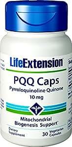 Life Extension gélules de PQQ caches avec BioPQQ, 10mg, 30gélules végétales